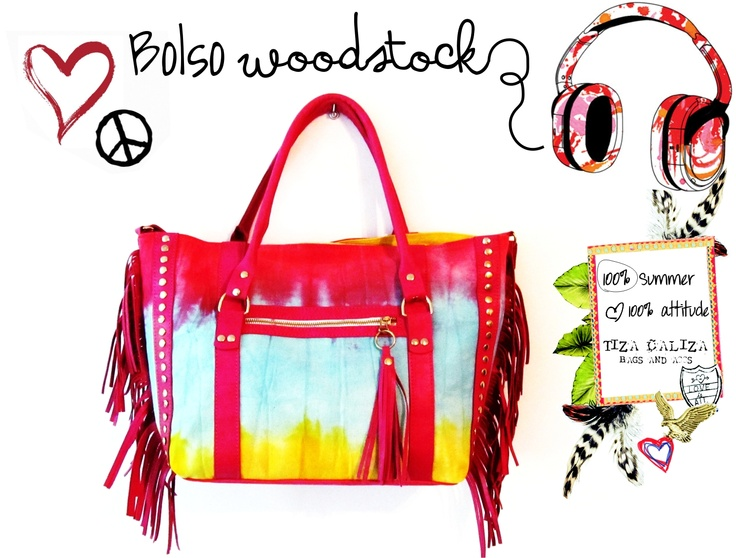 BOLSO PLAYERO WOODSTOCK