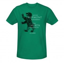 Game of Thrones House Mormont Remembers T-Shirt