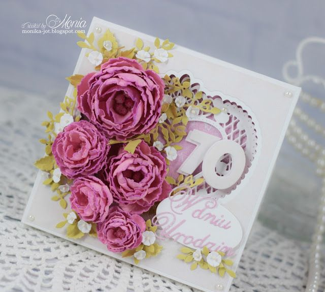 #polandhandmade #handmadeflowers #cardmaking #birthday