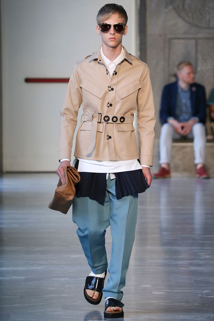 Andrea Pompilio Spring 2015 Menswear - Collection - Gallery - Style.com
