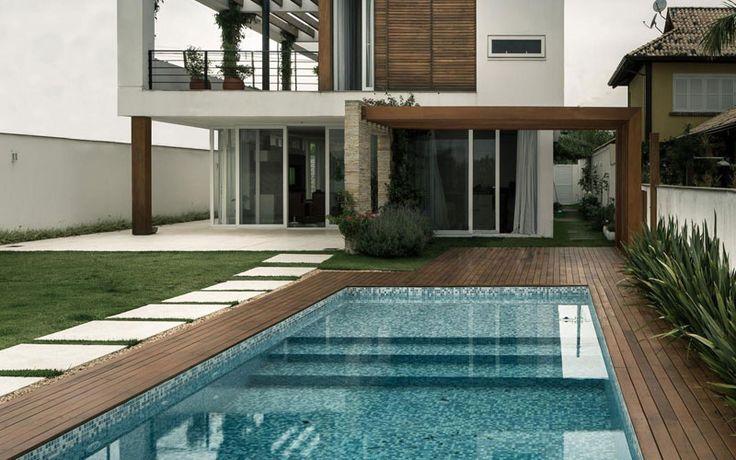 As 7 melhores imagens em piscinas no pinterest vida ao for Architecture post moderne