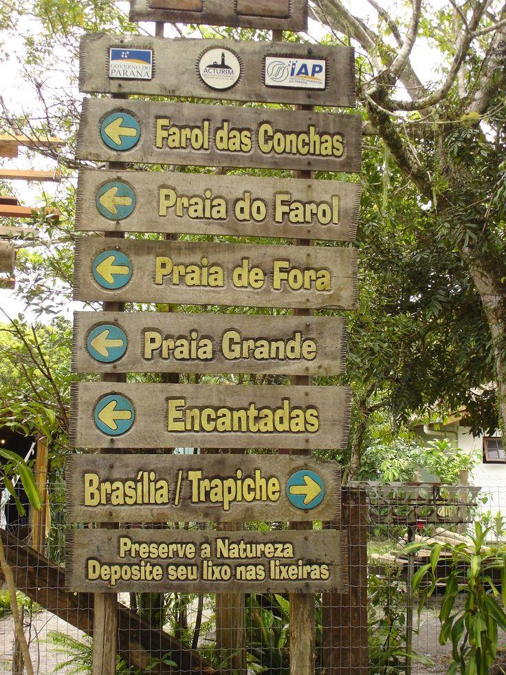 Ilha do Mel - MOCHILEIROS