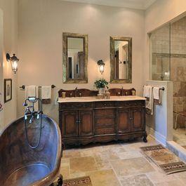 64 best rustic bathroom images on Pinterest Rustic bathrooms