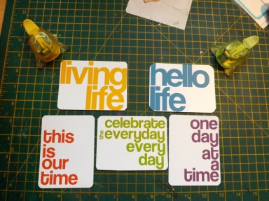 Project Life Free Printables 5/2/13 | [ One Velvet Morning ]