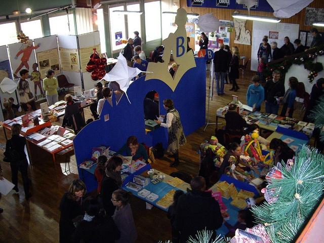 """""""Le Loupiot"""", 1° salon du livre Jeunesse, via Flickr."""
