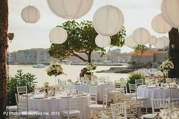 Wedding receptions in 2015, Dubrovnik, Croatia