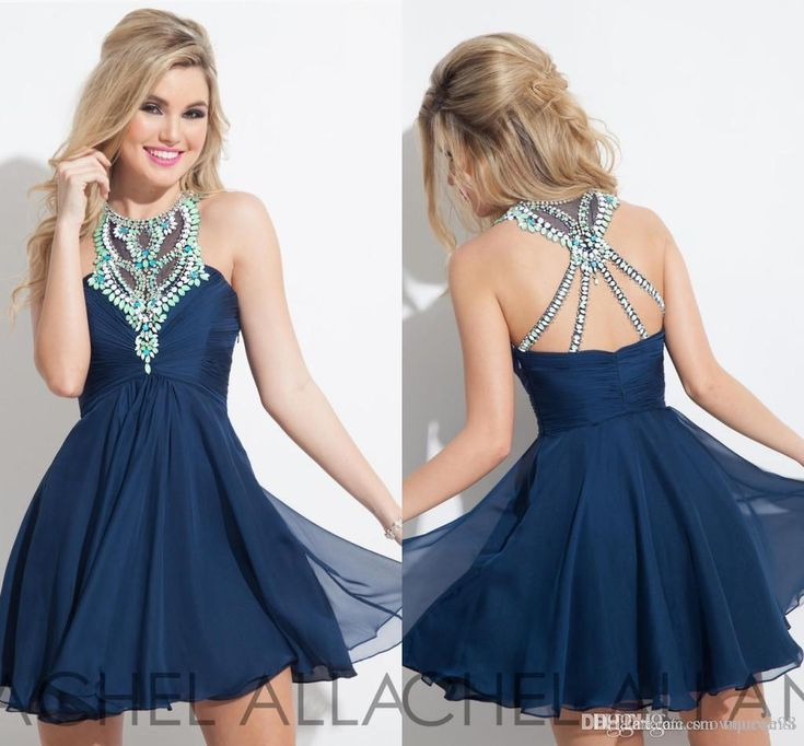 Rachel Allan 2017 Short Homecoming Dresses Jewel Neck Crystal Sleeveless Party Gowns Beaded Cheap A Line Prom Dresses Stores With Homecoming Dresses Vintage Homecoming Dress From Snowqueen98, $108.96| Dhgate.Com