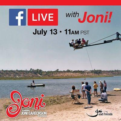 Walking, Way Overrated: Watch Now! My  Hero Joni Eareckson Tada - Live on ...