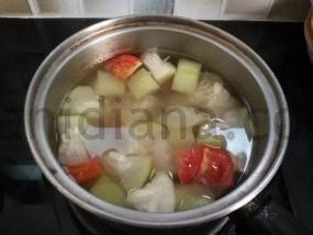 Sayur Bening Labu Air - Bottle Gourd Soup