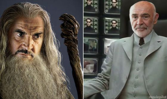 Actors who passed up legendary roles  Sean Connery: Gandalf (Lord of The Rings) AND Architect (Matrix)