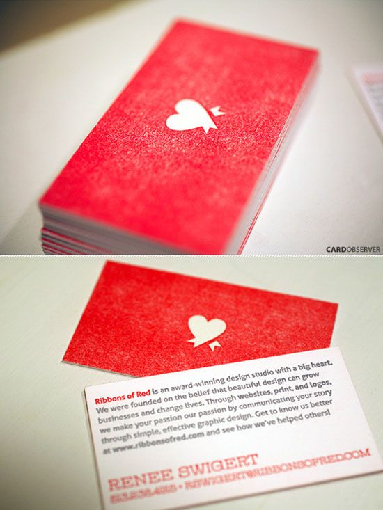 14 best Red Business Cards images on Pinterest | Card designs ...