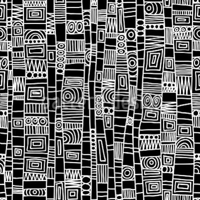 Hochqualitative Vektor-Muster auf patterndesigns.com - Linien-und-Kreise-Schwarz-Weiss, designed by Martina Kramer                                                                                                                                                                                 Mehr