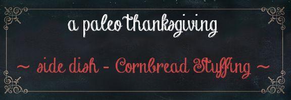 #paleo thanksgiving stuffing