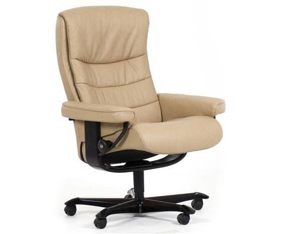 ce fauteuil de bureau au design classique accompagnera vos journees de boulot avec confort