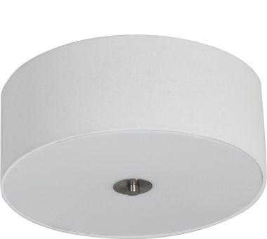 Candice 400mm 3 Light Ceiling Shade - White Irish Linen, Ceiling Lights, Semi-Flush Lighting, New Zealand's Leading Online Lighting Store