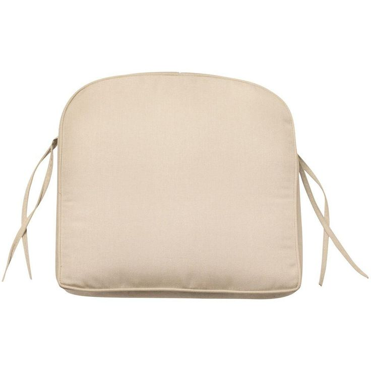 Gallery Of Home Decorators Collection Sunbrella Flax Contoured Outdoor Seat  Cushion With Home Decorators Outdoor Cushions.
