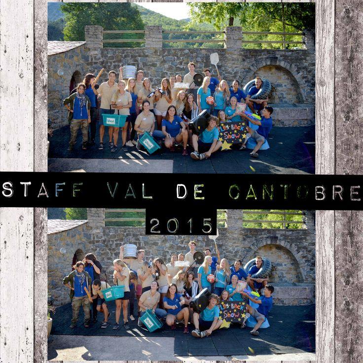 Camping team Val de Cantobre