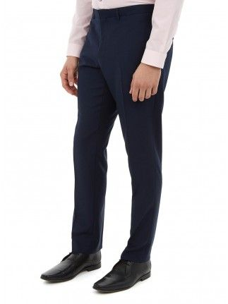 MIDNIGHT BLUE SKINNY FIT SUIT TROUSERS