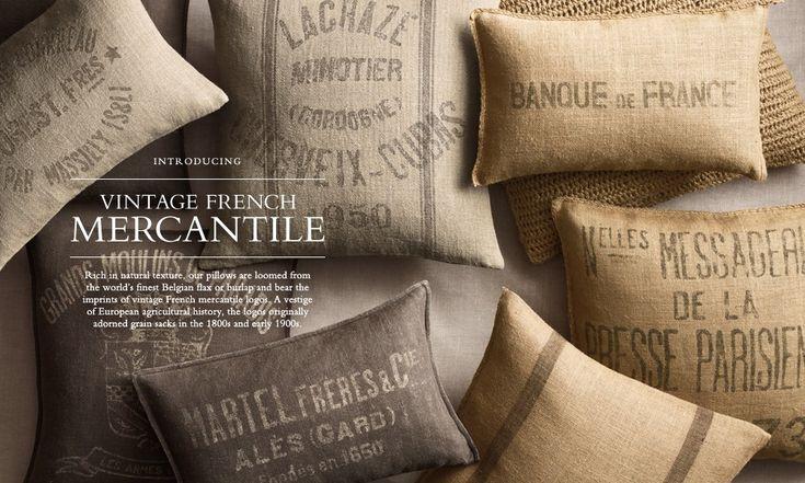 almohadon beautiful french pillows