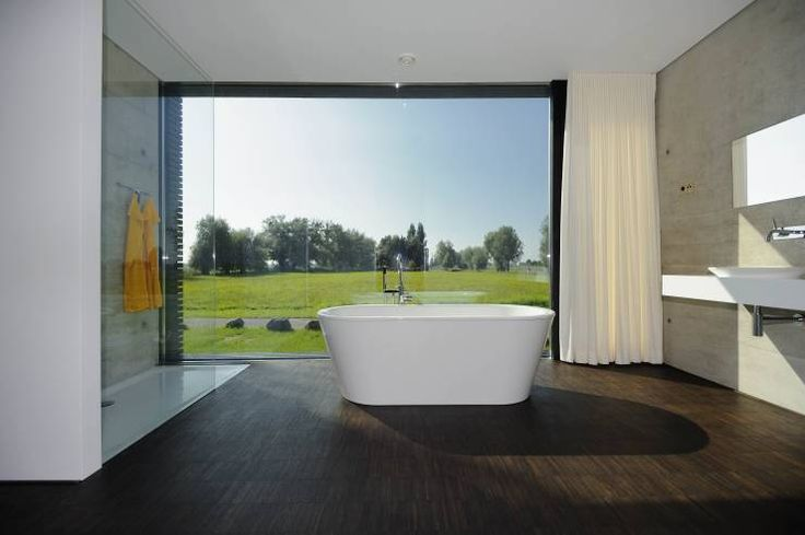 Casas de banho modernas por schroetter-lenzi Architekten