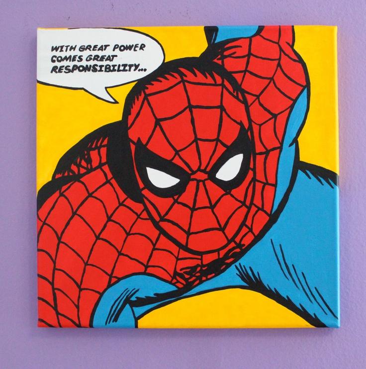 Spiderman pop art - photo#1