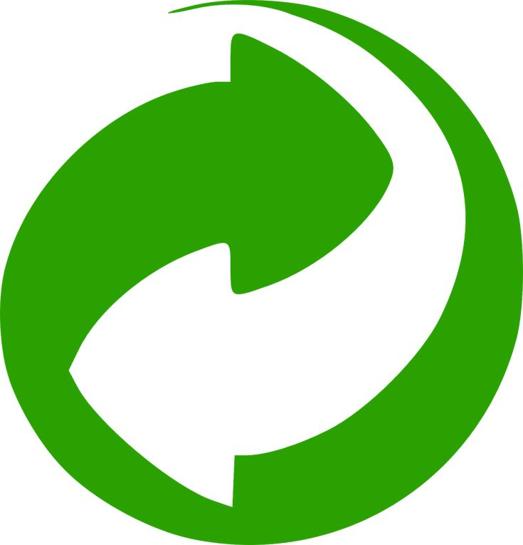 Green Dot, Logo, Recycling, Packaging Material