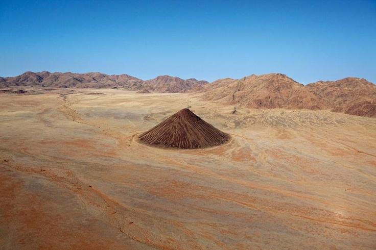 The strange landscapes of the Namib desert.