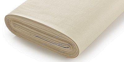 Hallis Standard Ivory Cotton Sateen Lining C/Lapped