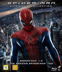 Spiderman Collection (5-disc) (Blu-ray) 19,95e