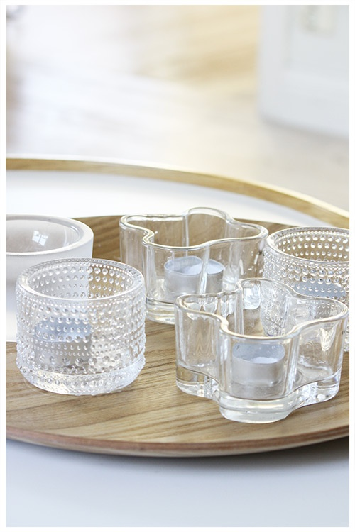 tealight holders by ittala, pinned from Annixen.