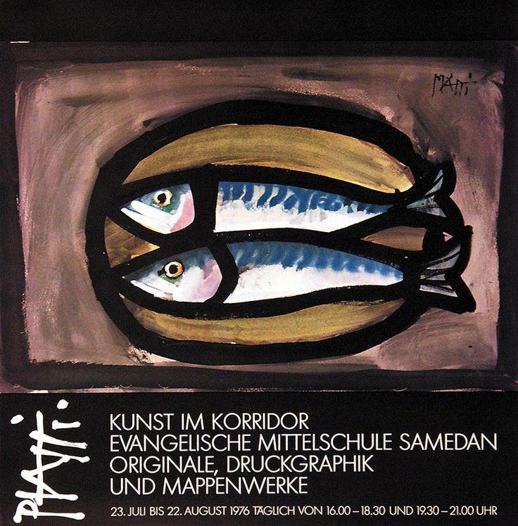 Celestino Piatti – Kunst im Korridor Evangelische Mittelschule Samedan, 1976