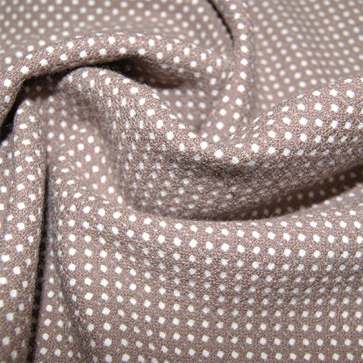Dwustronna tkanina poliestrowo - wiskozowa z elastanem