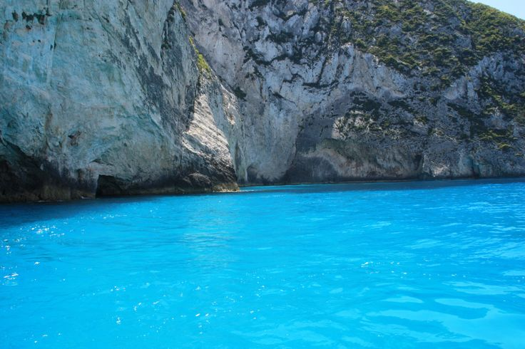 Zante's crystal clear waters