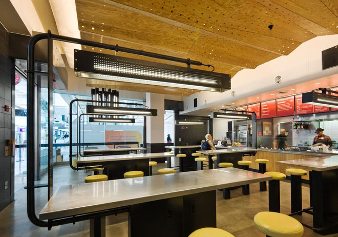 Chipotle restaurant interior design google search fast