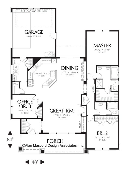 images about House plans on Pinterest   Floor Plans  House    House Plan  The Ellington   houseplans co