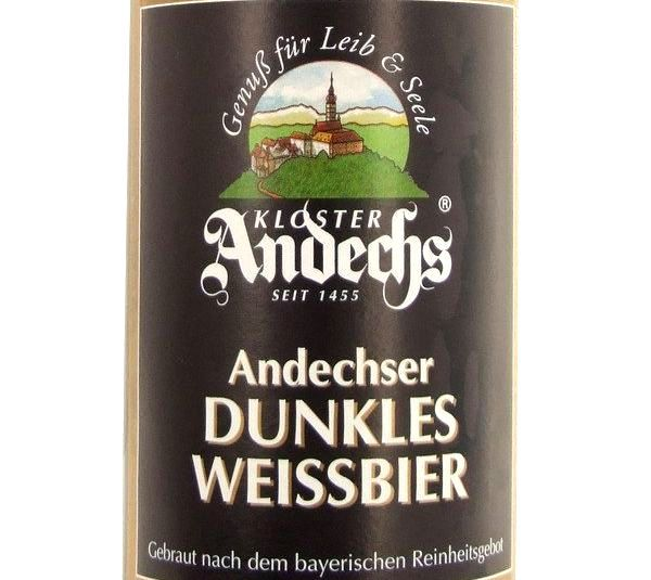 Andechser Dunkles Weissbier 500ml Beer in New Zealand - http://www.beergermany.co.nz/beer-from-germany-in-nz/andechser-dunkles-weissbier-500ml-beer-in-new-zealand/ #German #beer #NewZealand #nzbeer