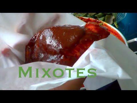 Receta de Mixiotes de pollo para chuparse los dedos!! - YouTube