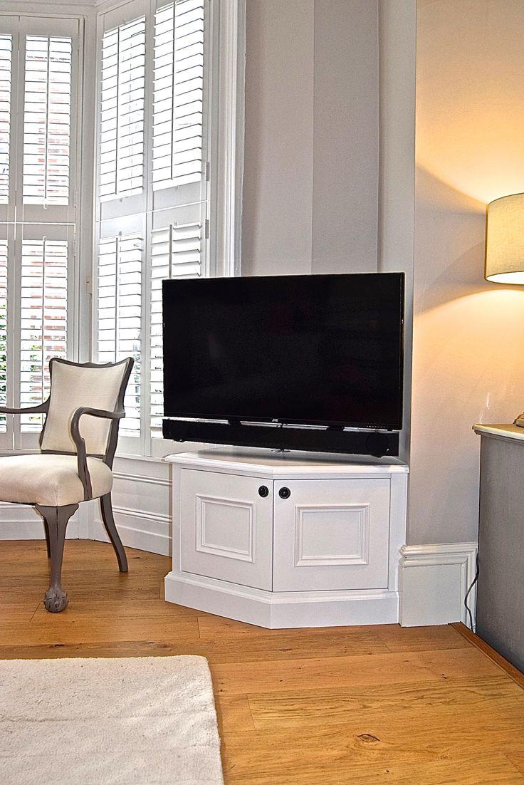 Fitted bespoke T.V Cabinet  Handmade, custom built furniture by cabinet maker 'Gill Martinez' www.gillmartinez.com Manchester, England.