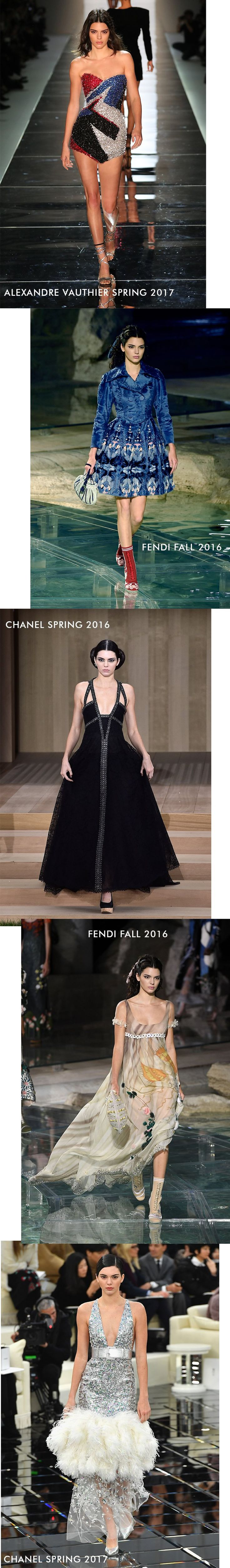 Kendall Jenner Runway Haute Couture Gallery - Kendall