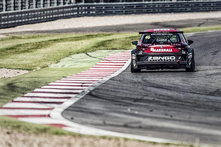 SEAT Leon Eurocup 2015. Silverstone. Second race.