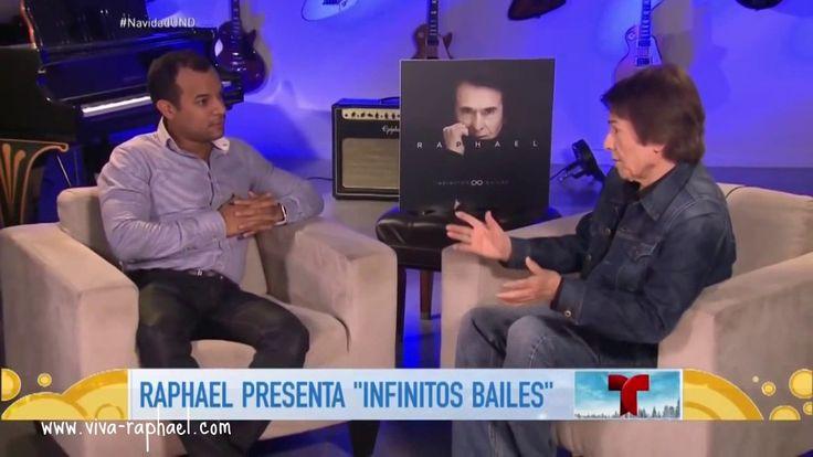 """Raphael en """"Un Nuevo Día"""" (Telemundo). 2016"""