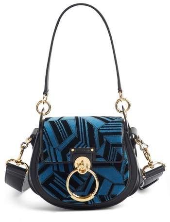 dba9a35934d Chloé Small Tess Geo Calfskin Leather Shoulder Bag | shoes ...