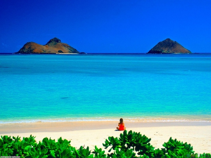 Lanikai Beach, Oahu the most amazing beach I've been to! :)
