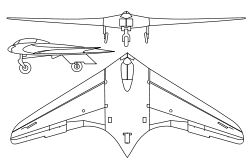 Horten Ho 229 - first stealth jet plane, built ... around 1944 in Germany by Horten brothers. Americans steal them after war is over, but succeeded to build something with this technology only after 50 years...  It is amazing - design, technology... And it was flying!