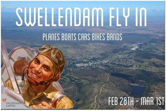 Don't miss the Swellendam Fly-in ... (there aren't any others)