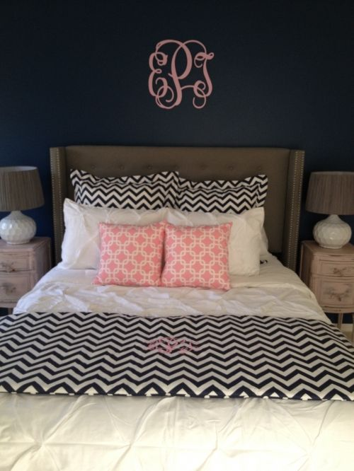 Decor 2 Ur Door Chevron Birthday Surprise Bedding | Sorority And Dorm Room  Bedding