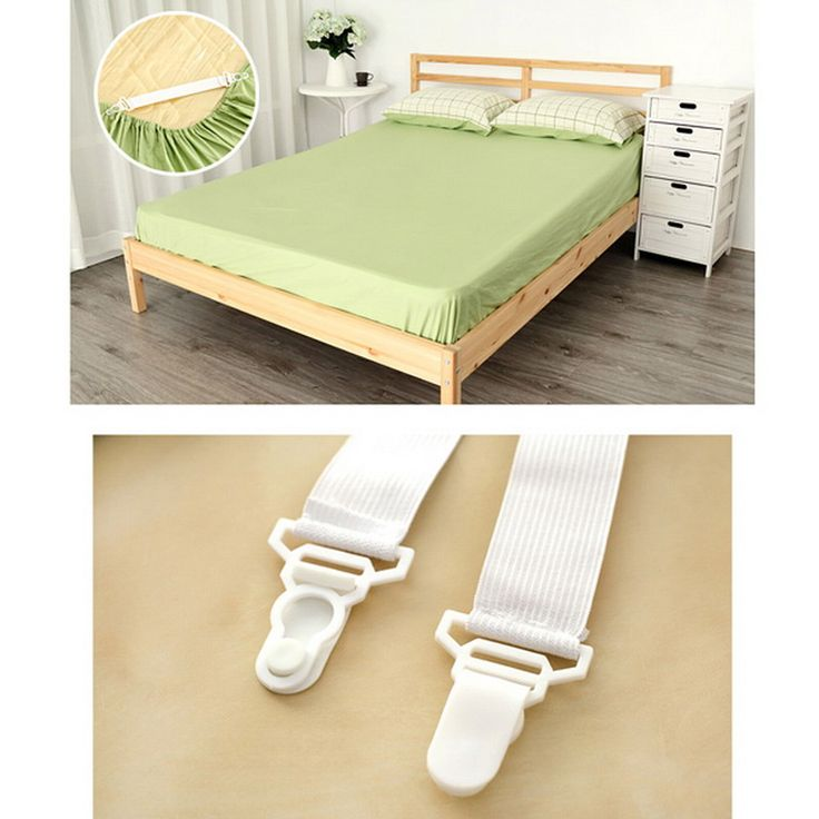4 PCS House Bed Sheet Mattress Cover Blankets Grippers Clip Holder Fasteners Tool  VBL75 P50