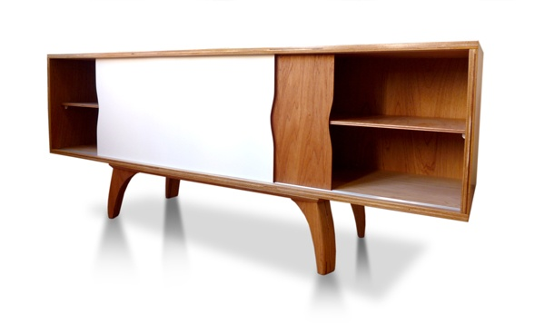 cabinet . side, white front