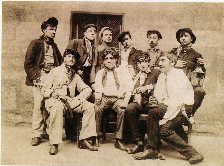 ΓΑΛΛΙΚΑ CanCan: Απάτσι στην / αρχές του 1900 τα τέλη της δεκαετίας του 1800 στη Γαλλία (μέρος 2)