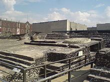 Ruins of the Great Temple today in Mexico City
